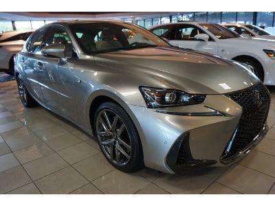 2019 Lexus IS (silver)