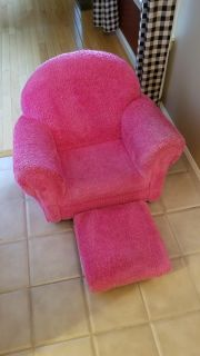 Child's Chair with Ottoman