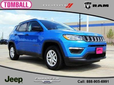 2018 Jeep Compass Sport (Laser Blue)