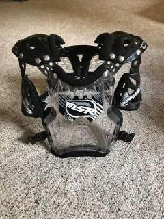 MSR Motorcycle Riding Chest Protector Youth