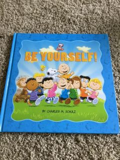 NEW! PEANUTS BE YOURSELF BOOK
