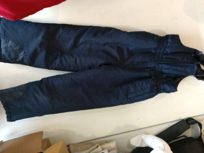 Snow pants size 6/7