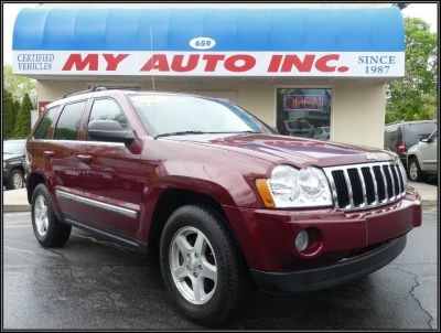 2006 Jeep Grand Cherokee Limited (Red Rock Crystal Pearl)