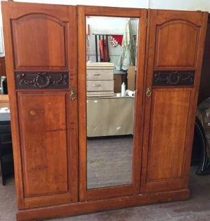 Vintage Armoire - Solid Wood