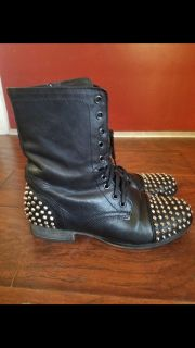 Steve Madden leather boots Sz 8