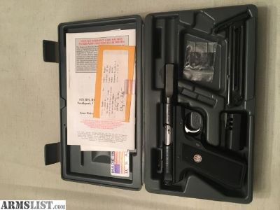 """For Sale/Trade: Ruger 22/45 with rare 2.5"""" bull barrel"""