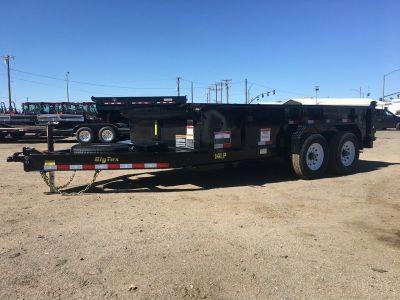 7x16Low Pro Dump Trailer, Big Tex Low Pro Dump Trailer 14LP-16