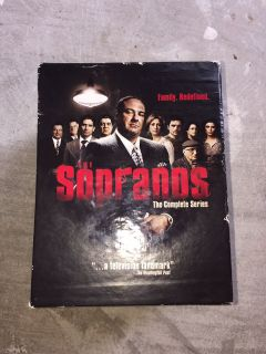 Sopranos blue ray complete series
