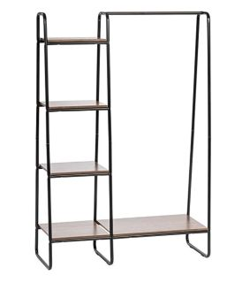 Wood/Metal Convenient clothing rack