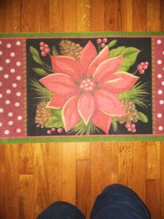 Christmas rugs times 3