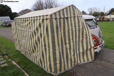 Original Grey and cream Westfalia tent