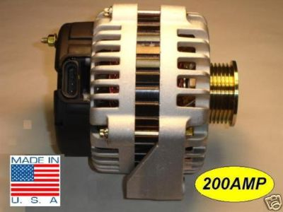 Purchase Chevy Trail Blazer NEW Alternator 03 04 5.3L HIGH AMP motorcycle in Van Nuys, California, US, for US $119.99