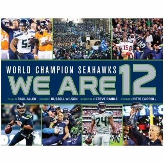 *** World Champions Seahawks - WE ARE 12 - 160 pg. Hard copy book ***