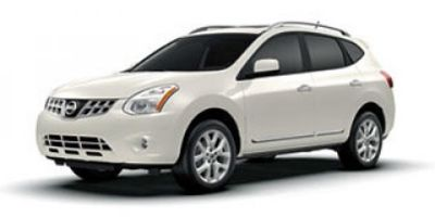 2013 Nissan Rogue S (Pearl White)