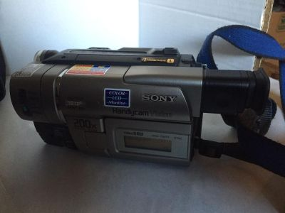 Sony 200x Digital Zoom Camcorder
