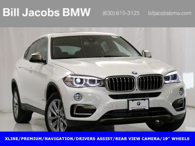 2018 BMW X6 xDrive35i (Alpine White)