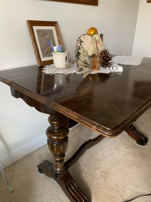 Polished Wood Table