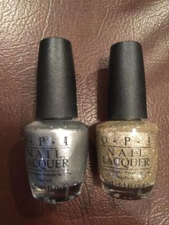 Brand New Opi Nail Polish, I bought a pack and these are 2 color I will not use.