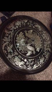 made in korea, foldable tea table