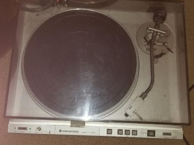 Never used but stored kenwood record player