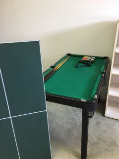 Pool Table/Table Tennis/Board Games