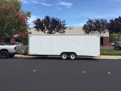 24' Carson Racer Enclosed Trailer