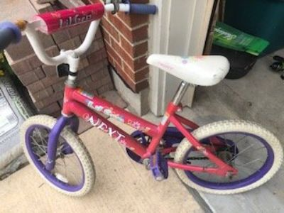 Girl Bicycle Age 5-7