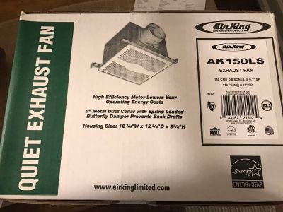 Air King Exhaust Fan