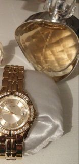 NEW! Guess watch w pouch