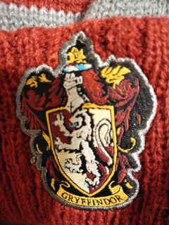 Brand new with tags Gryffindor knit hat
