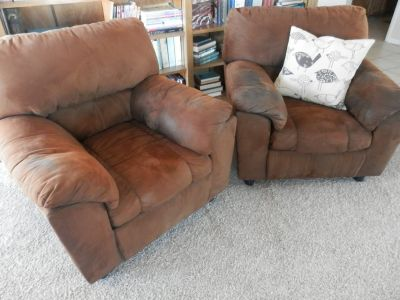 A Pair of Comfortable Pub Chairs