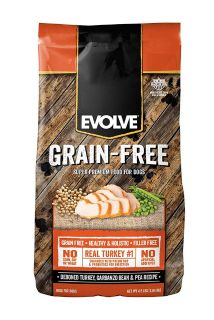 Evolve grain free dog food