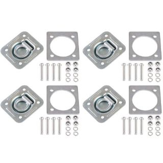 Sell 4-Pack Recessed 5,000 lb D-Ring Trailer Cargo Floor Anchor Tie-Down RTD-1-4 motorcycle in West Bend, Wisconsin, United States