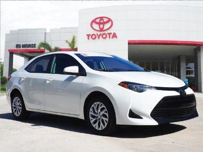 2018 Toyota Corolla L (white)