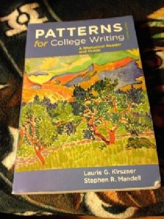 $35 OBO Patterns For College Writing 12th Edition Textbook