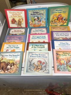Set of 15 FRAGGLE ROCK Weekly Reader Books. Great condition