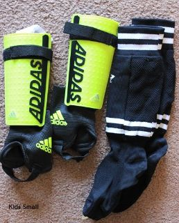 New adidas kids soccer Shin guards and socks