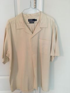Polo silk shirt XL