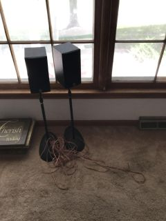 Yamaha speakers with stands