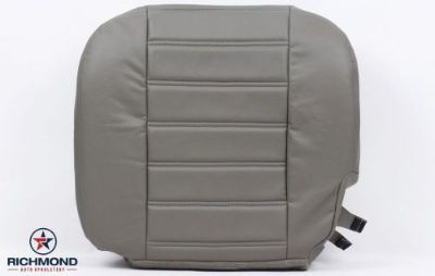 Buy 03-07 Hummer H2 -Driver Side Bottom Replacement Leather Seat Cover Gray WHEAT motorcycle in Houston, Texas, United States, for US $205.00