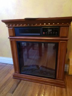Dresden Electric Infrared Fireplace
