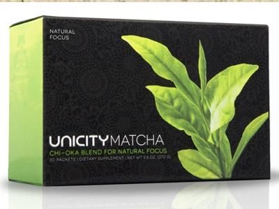 Unicity Matcha for Natural Energy at Discount Rates
