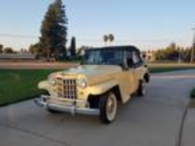 1951 Willys 439 Overland Jeepster Convertible