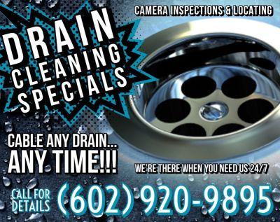 Plumbing ★ $75 Drain Cleaning ★ Plumber ★ UPFRONT PRICES