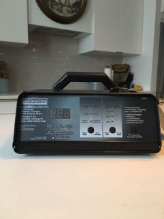 Car and boat battery charger