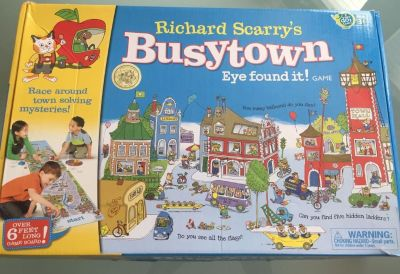 Richard Scarry s Busytown I Found It Board Game