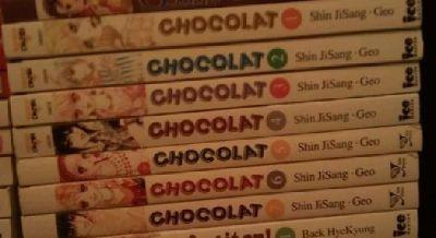 $40 OBO Chocolat Manga vol. 1 - 7 set
