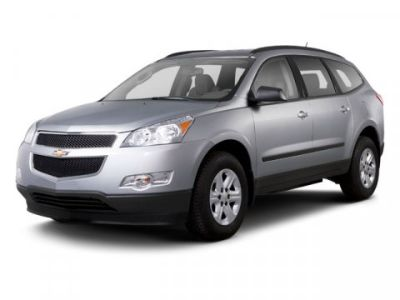 2012 Chevrolet Traverse LT (White)