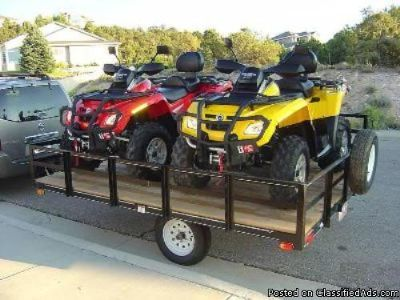 Package of Two 2007 Bombardier Can Am Outlander $2800