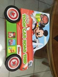EUC! Board Book! Disney! Mickey Mouse Clubhouse! Toon Car Road Trip Play-a-Sound! Children s Book! NS Meet AB Park or PPU